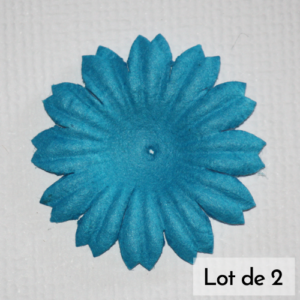 DAISY 1″ (2.5cm) – Lot de 2 – Bleu royal