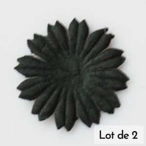 Daisy 1″ (2.5cm) – Lot de 2 – Noir