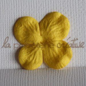 Hydrangea 1″ (2,5cm) – Lot de 2 – Jaune