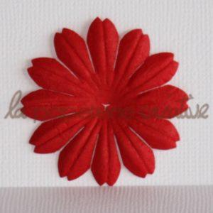Daisy 1,5″ (4cm) – Lot de 2 – Rouge