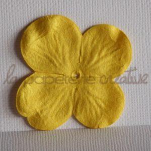Hydrangea large 2″ (5cm) – Lot de 2 – Jaune citron