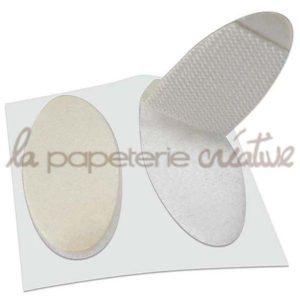 Velcro Easy-coin ovale – Lot de 5