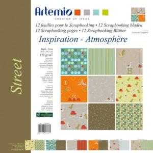 """ARTEMIO – Collection """"Street"""" de J. Langford 6 feuilles"""