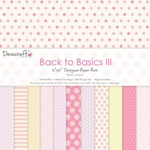 """DOVECRAFT – Collection """"BACK TO BASICS III"""" 12 Feuilles"""