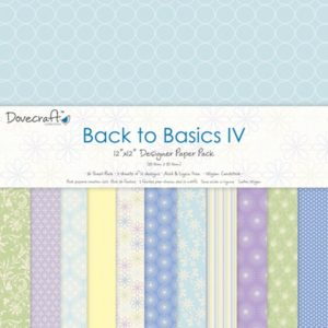 """DOVECRAFT – Collection """"BACK TO BASICS IV"""" 12 Feuilles"""