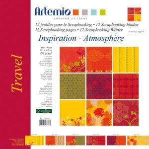 """ARTEMIO – Collection """"Travel"""" de J. Langford 6 feuilles"""