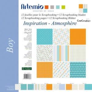 """ARTEMIO – Collection """"Boy"""" de Color Conspiracy 6 feuilles"""