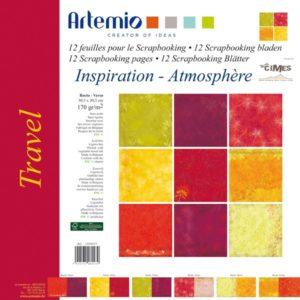 """ARTEMIO – Collection """"Travel"""" de Au-delà des Cimes 6 feuilles"""