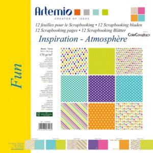 """ARTEMIO – Collection """"Fun"""" de Color Conspiracy 6 feuilles"""