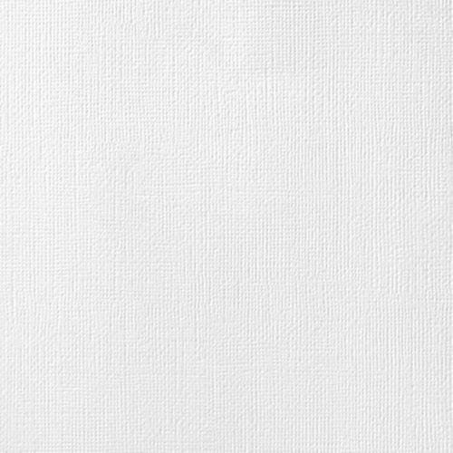 "Cardstock texturé 12x12"" - White"