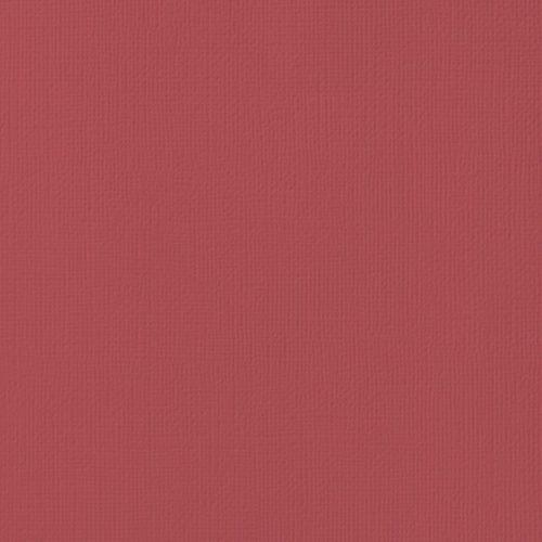 "Cardstock texturé 12x12"" - Cranberry"