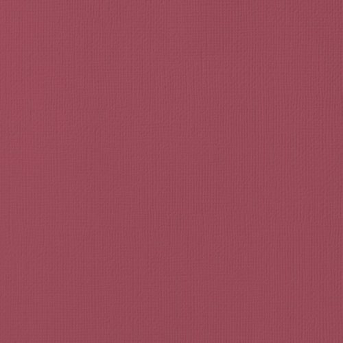 "Cardstock texturé 12x12"" - Pomegranate"
