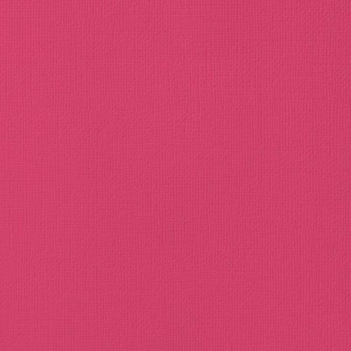 """Cardstock texturé 12x12"""" - Rouge"""