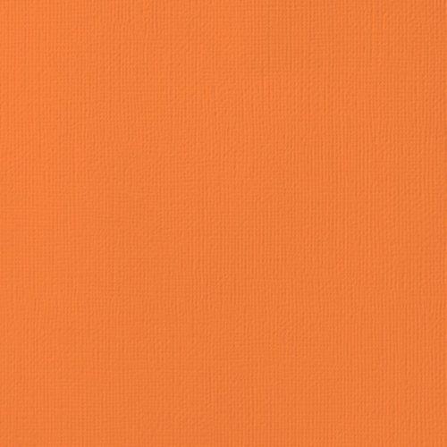 """Cardstock texturé 12x12"""" - Carrot"""