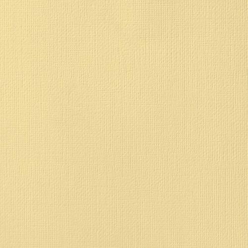 """Cardstock texturé 12x12"""" - Butter"""