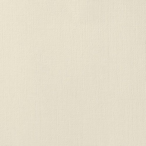"Cardstock texturé 12x12"" - Vanilla"