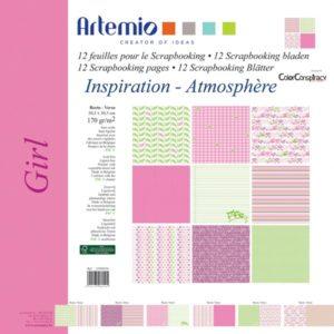 """ARTEMIO – Collection """"Girl"""" de Color Conspiracy 6 feuilles"""