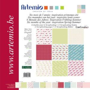 """ARTEMIO – Collection """"Printemps-Eté"""" de Color Conspiracy 6 feuilles"""