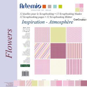 """ARTEMIO – Collection """"Flowers"""" de Color Conspiracy 6 feuilles"""