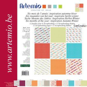 """ARTEMIO – Collection """"Automne-Hiver"""" de Color Conspiracy 6 feuilles"""