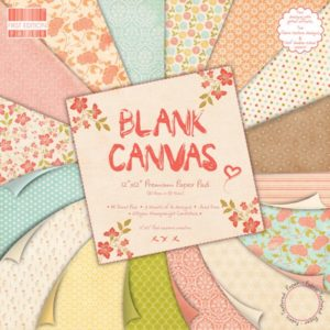 """FIRST EDITION PAPER – Collection """"BLANK CANVAS"""" 16 Feuilles"""