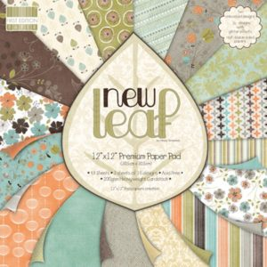 """FIRST EDITION PAPER – Collection """"NEW LEAF"""" 16 Feuilles"""