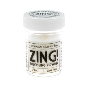 ZING Poudre à embosser – Clear