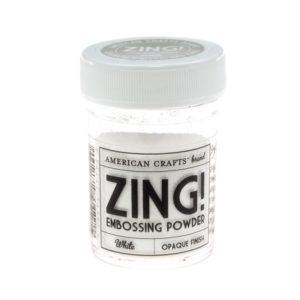 ZING Poudre à embosser – White