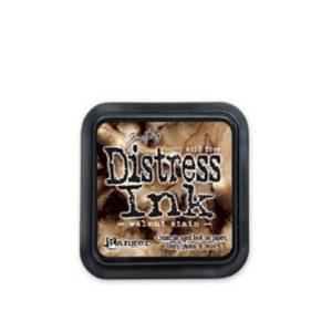 Distress pad – Walnut Stain