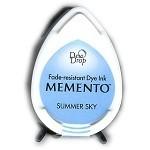 Memento – Encreur Dew drop Summer sky