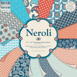 """First Edition Paper – Collection """"Neroli"""" 16 feuilles"""
