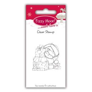 "Fizzy Moon – Tampon transparent ""Presents"""