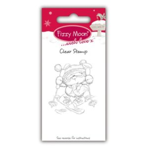 """Fizzy Moon – Tampon transparent """"Skiing"""""""