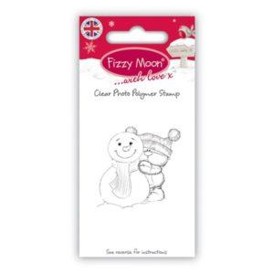 "Fizzy Moon – Tampon transparent ""Snowman"""