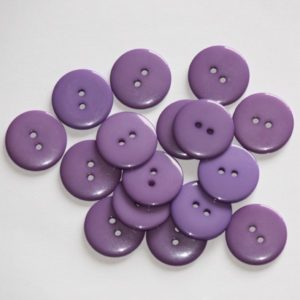 Bouton rond 2,3cm – Lot de 2 – Violet