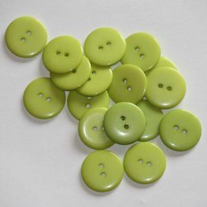 Bouton rond 2,3cm – Lot de 2 – Vert