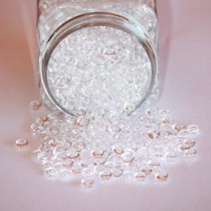 Perles de pluie 4mm – Lot de 10 – Transparent