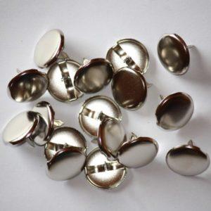 Large brads 1/2″ (1,7cm) – Lot de 2 – Silver