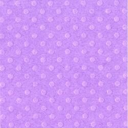 Cardstock embossé 12×12″ Dotted Swiss Grape Jelly
