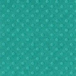 Cardstock embossé 12×12″ Dotted Swiss Deep Sea