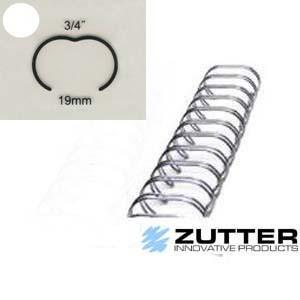 Spirale de reliure 3/4″ – 24 anneaux