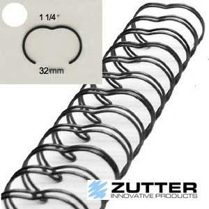 Spirale de reliure 1 1/4″ – 24 anneaux