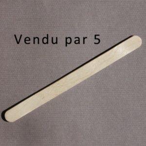 Bâtonnet plat 113mm – Lot de 5