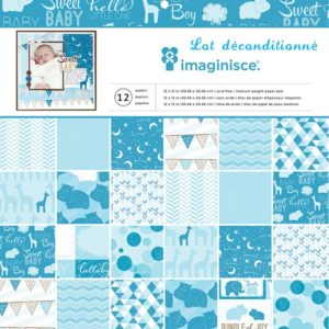 """Imaginisce Collection """"My Baby – Baby Boy"""" 12×12″"""