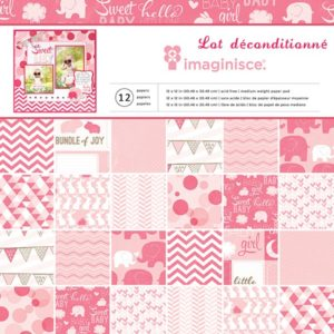 """Imaginisce Collection """"My Baby – Baby Girl"""" 12×12″"""