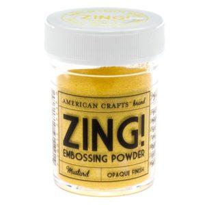 ZING Poudre à embosser – Mustard