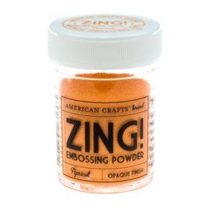 ZING Poudre à embosser – Apricot