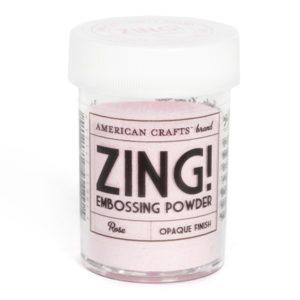 ZING Poudre à embosser – Rose
