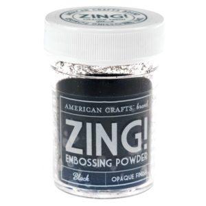 ZING Poudre à embosser – Black