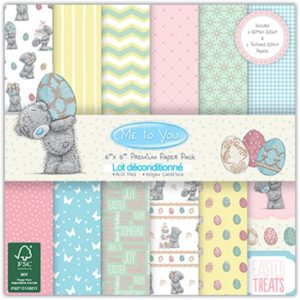 """Me to You – Collection """"Easter"""" 12 feuilles"""